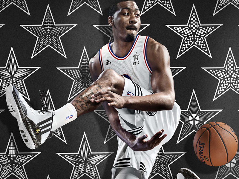 adidas John Wall NBA All-Star 2015 1 H