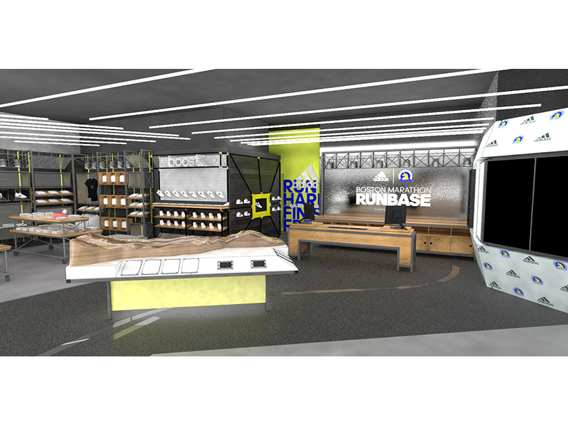 Boston Marathon RunBase Interior Sneak Peek