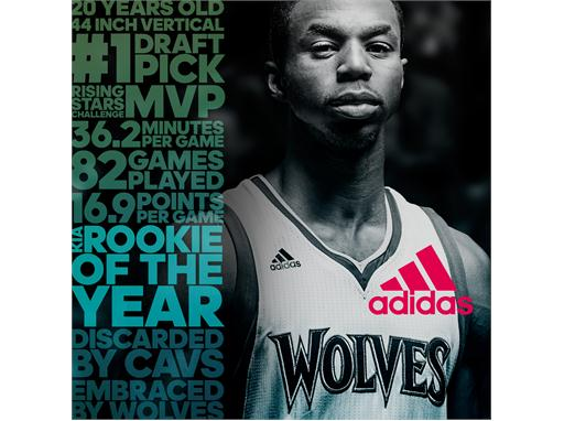 adidas Andrew Wiggins Rookie of the Year
