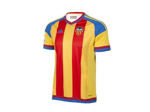 adidas y  el Valencia CF  han presentado la segunda equipación para la temporada 2015/2016