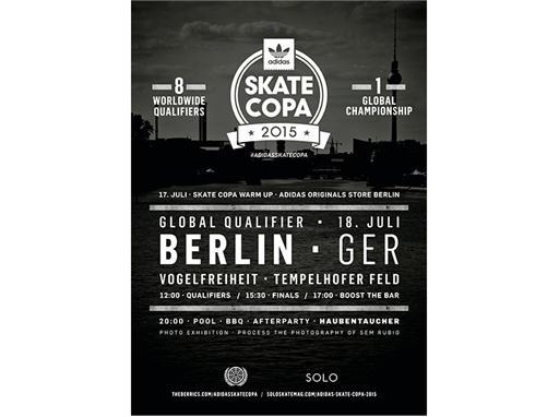 adidas Skate Copa Berlin 5