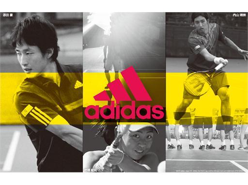 「adidas TENNIS CHALLENGE」 TOP