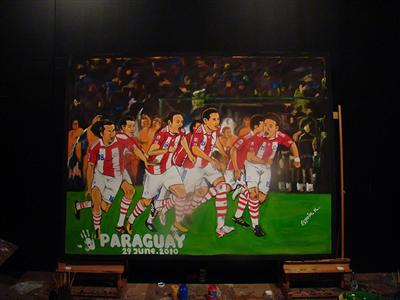 Own the moment: FIFA 2010 WORLD CUP ADIDAS PARAGUAY JUNE 29