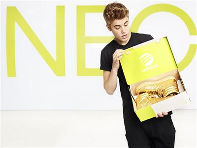 adidas gibt Partnerschaft mit Justin Bieber bekannt