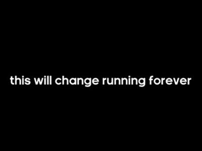 A Revolution in Running is Coming
