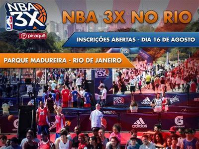 adidas estará presente no NBA 3X
