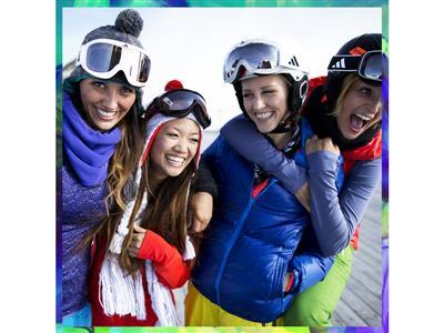 #mygirls na stokach narciarskich – kolekcja adidas Women na zimowy trening!