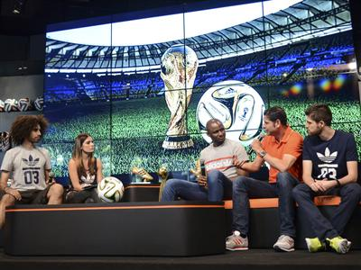 Football legends Patrick Vieira and Fernando Hierro predict their 2014 FIFA World Cup Brazil™ Winners