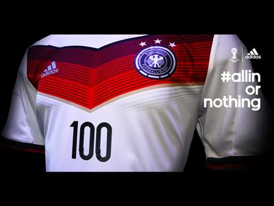 Germany become the first federation to play 100 matches in the FIFA World Cup
