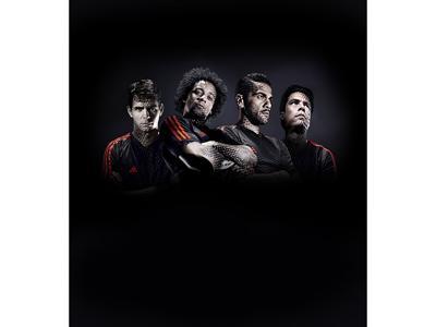 adidas 2014 FIFA WORLD CUP BRAZIL™ - Hernanes, środkowy pomocnik reprezentacji Brazylii