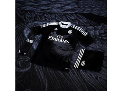 Real Madrid 3rd kit & adizero f50 by Yohji Yamamoto