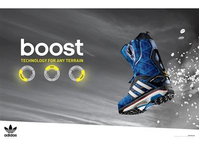 Neuheit: BOOST ™ Technologie für adidas Snowboarding