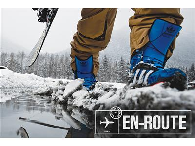 adidas snowboarding presents the second installment of the nomad series | nomad 2/3: en route
