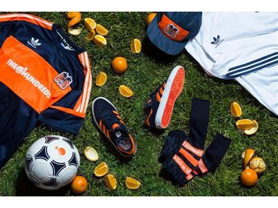 "adidas® skateboarding x The Hundreds ""Crush Pack"" Available February 5, 2015 Second Drop of Two-Part ""A League"" Collection An Homage to The Hundreds Founders' Childhood Spent Skateboarding And Playing Soccer"