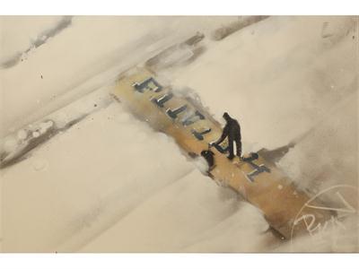 adidas + Graffiti Artist Reimagine Iconic Moments in Boston Marathon History