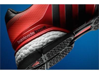 adidas le oferă jucătorilor de tenis mai multă energie cu noul pantof sport - Barricade Boost™