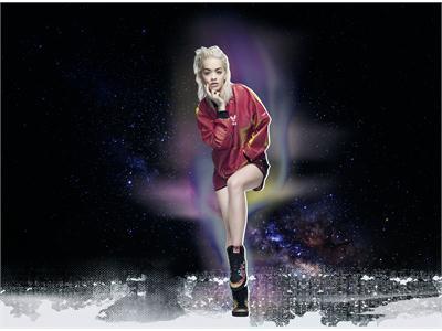 adidas Originals представляет линейку Space Shifter из коллекции с Ритой Ора сезона осень-зима'15
