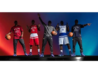 adidas and NBA unveil NBA All-Star 2016 uniforms