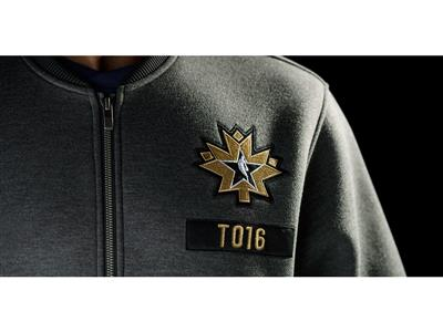 adidas-NBA All-Star Warm-Up Jacket Front