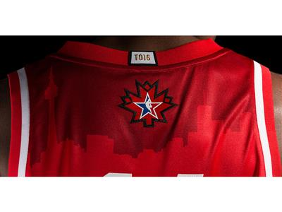 adidas-NBA All-Star West Jersey Back