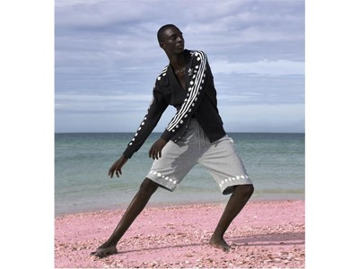 adidas Originals = PHARRELL WILLIAMS apresenta Pink Beach