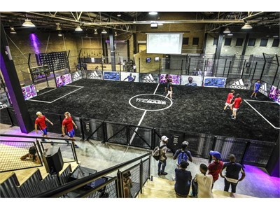 adidas South Africa introduces a new football facility, THE BASE JOBURG