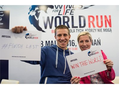 Polski rekord świata na Wings For Life World Run!