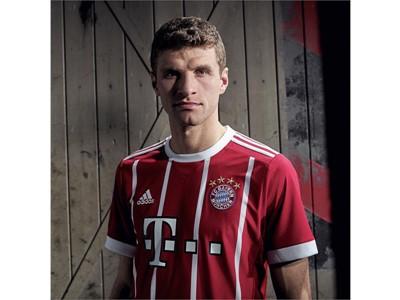 adidas Football revela el uniforme local del FC Bayern Múnich para la temporada 2017/18