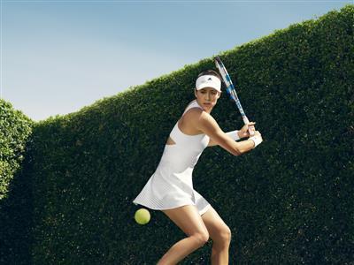 adidas by Stella McCartney Showcases Wimbledon Collection for Muguruza and Wozniacki