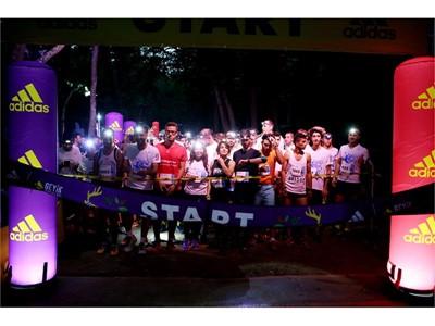 adidas ile Yenilenen Geyik Koşuları'nın ilk Gece Koşusu Gerçekleşti