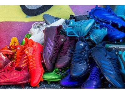 """adidas Baseball Unveils the 2017 adizero Afterburner """"Dipped"""" Cleat Collection"""