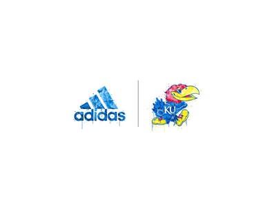 adidas NCAA Domont BOSxJayhawk lockups