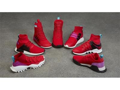 adidas Originals Winter AF 1.3 PK & AF 1.4 PK - Scarlet/Shock Purple