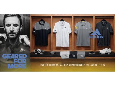 adidas Golf Releases Styles for Dustin Johnson and Sergio Garcia for the PGA Championship