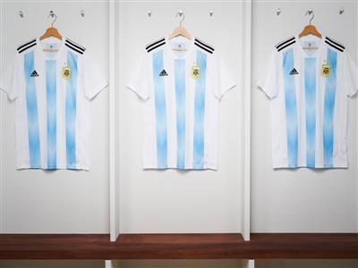 adidas Soccer Reveals New Federation Home Kits for 2018 FIFA World Cup RussiaTM