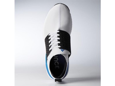 adicross bounce white black blue