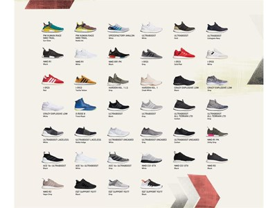 adidas Offers Instant BOOST Footwear Collection for $7,000