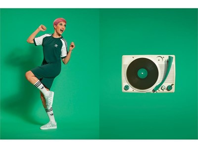 Τα adidas Originals αναβιώνουν την εμβληματική συλλογή adicolor  και η Αθήνα το γιορτάζει μέσα από ένα ανατρεπτικό activation!