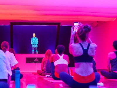 adidas by Stella McCartney launches Spring/Summer 2018 collection with Hologram workout sessions in New York
