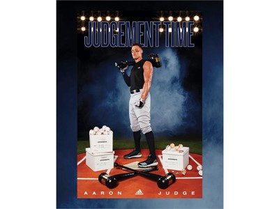 MLB American League Rookie of the Year Aaron Judge Joins adidas 68598a03ddb8