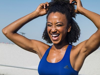 adidas Womens reveals the April 2018 Bras & Tights Mailer with Danielle Acoff: Be an outsider with an Alfresco workout