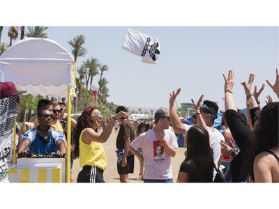 adidas Partners with Coachella Music Festival Providing Attendees with Elevated Experiences, Surprise and Delight Moments, and a Desert Mirage Throughout Weekend One