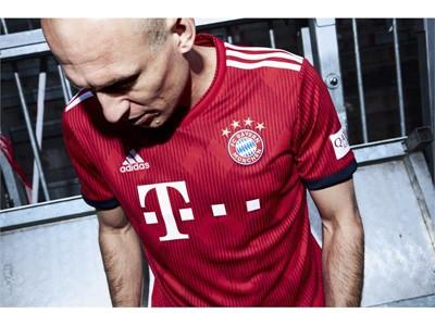 FC Bayern-Heimtrikot 2018-19 - Robben