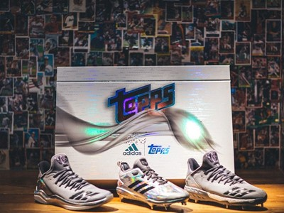 4256b945a36 adidas x Topps partner to create special edition Cleat   Trainer pack