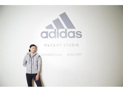 アディダスウィメンズアンバサダー榮倉奈々さんが一般参加者とともにトレーニング「adidas MeCAMP STUDIO」