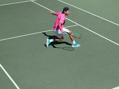 adidas unveils new high-performance tennis collection, bringing colour to London