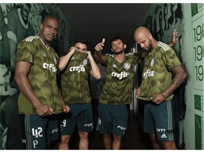adidas Futebol lança terceira camisa do palmeiras em novo tom de verde