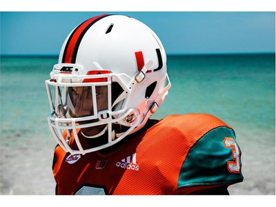 University of Miami Football and adidas Unveil Special Edition 2018 ... 9d590affe