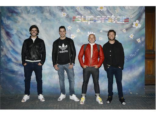 Marco Caponi, Esteban Lamothe, Ronnie Arias y Nico Riera