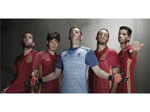 d571f5ca6 adidas and the Spanish Football Federation present the new kit for UEFA  EURO 2016